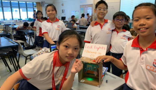 Micro:bit Maker Programme conducted with Red Swastika School