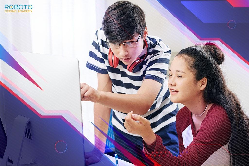 Kid learning Python