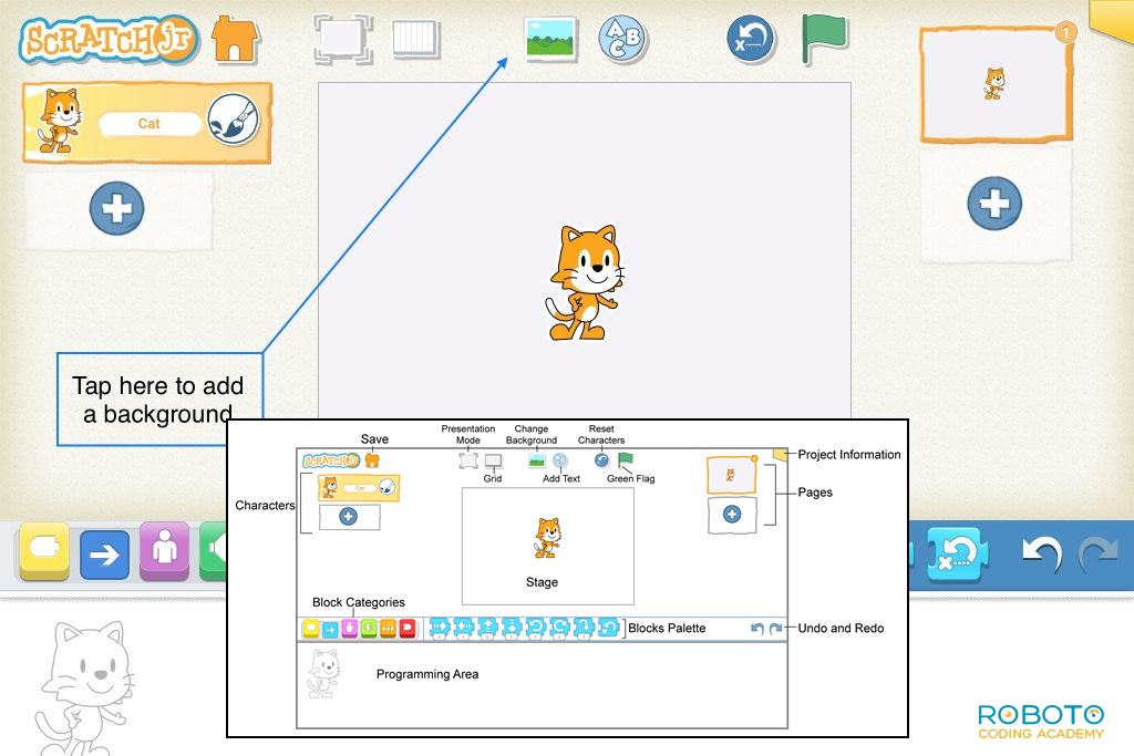 Scratch Junior Programming For Kids Interface